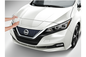 Clear Charging Port Protector (for Front Bumper) image for your 2019 Nissan Leaf
