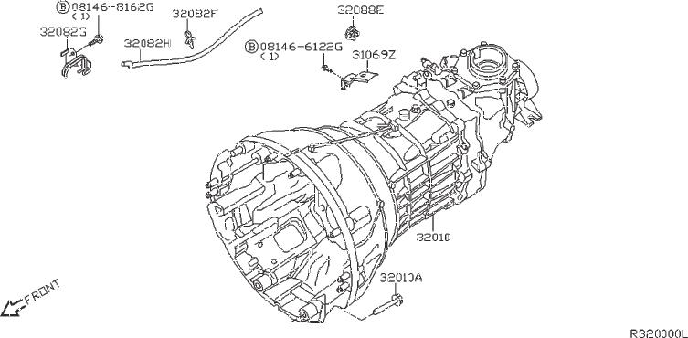 Nissan Frontier Manual Transmission. FITTING, BED, ASSY ...