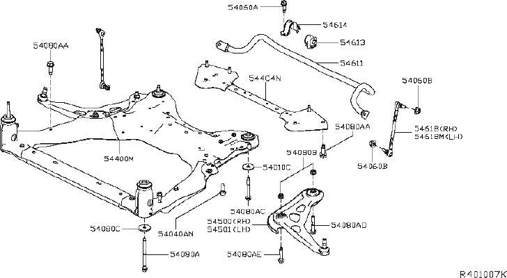 Nissan Altima Suspension Strut Bellows  Front   Spring