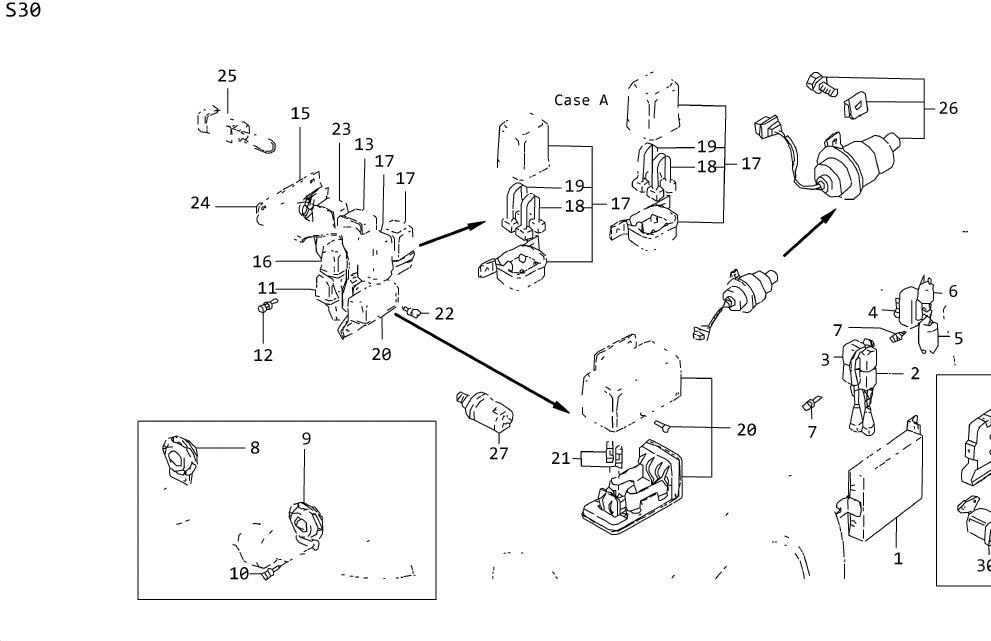 Datsun 310gx Box Fusible Link  Case Fusible Link  Fusible