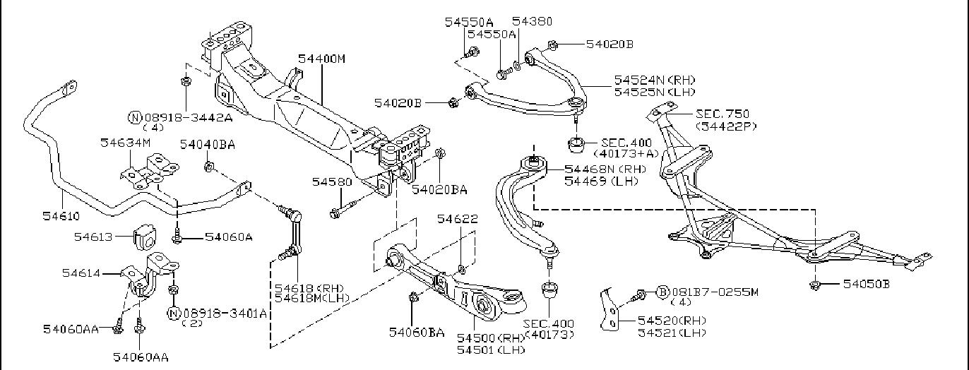 Nissan 350z Suspension Strut  Front