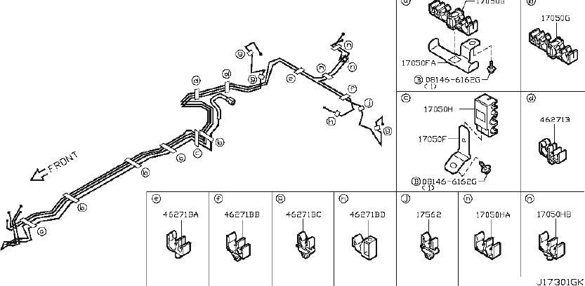 Nissan 370Z Evaporative Emissions System Line Adapter ...